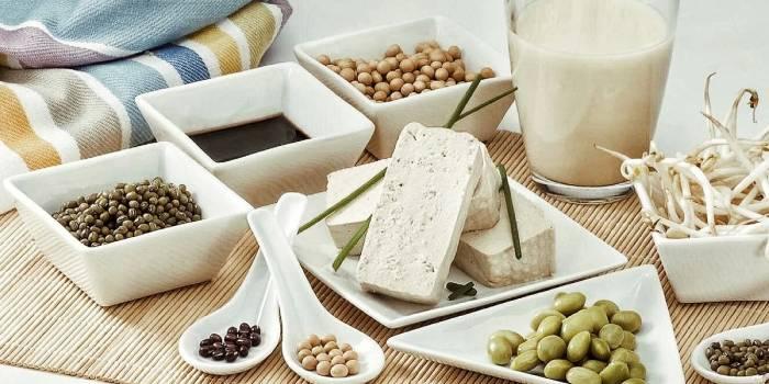В каких продуктах есть фитоэстрогены