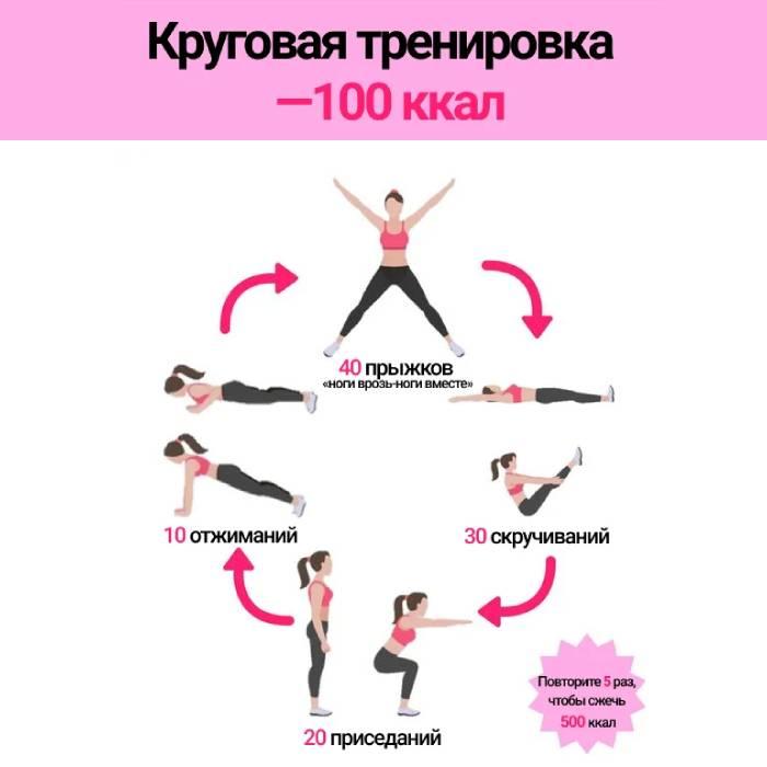 Вариант круговой тренировки
