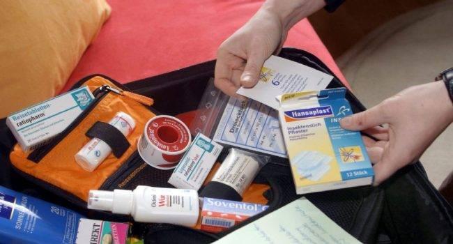 Какие лекарства взять с собой в путешествие