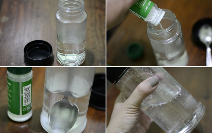 Как вырастить кристалл из соли в домашних условиях фото