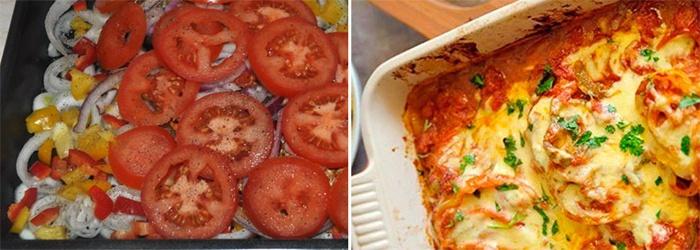 Готовое блюдо из куриной грудки