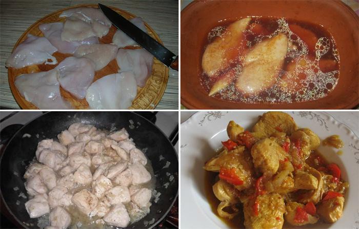 Как приготовить куриный гуляш