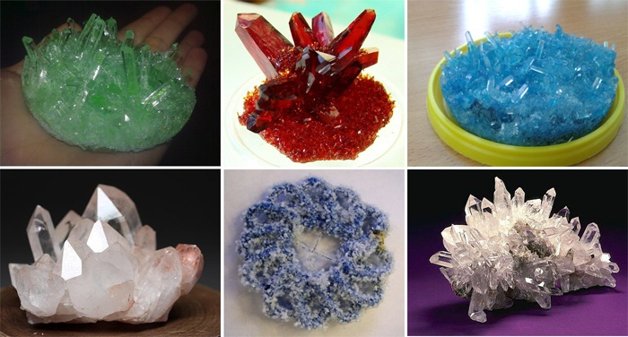 Кристаллы оригинальной формы