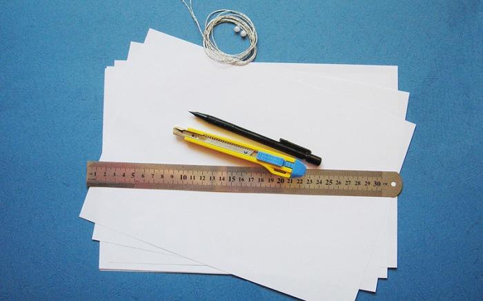 Материалы для создания оригами