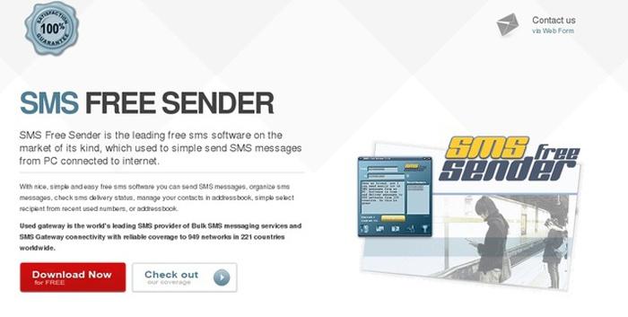 Приложение для бесплатной отправки смс на телефон