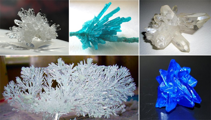 Как сделать кристалл в домашних условиях за один день