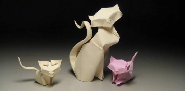 3915042-8 Как сделать оригами из бумаги А4