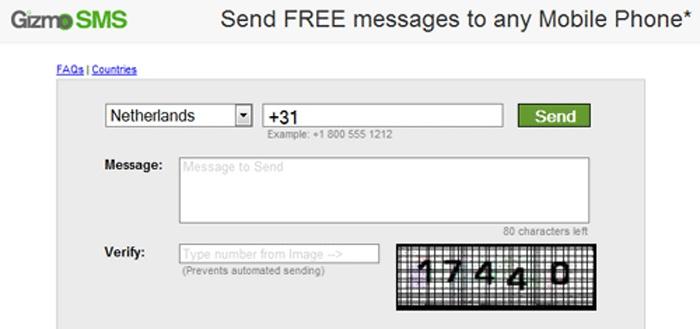 Программа для бесплатной отправки смс с компьютера