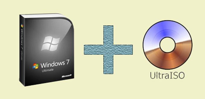 Windows 7 и Ultraiso