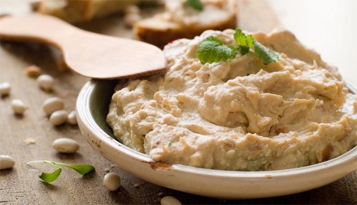 Хумус, приготовленый дома