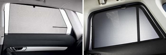 Фото солнцезащитных шторок на автомобиль