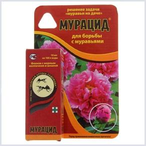Мурацид, предназначенный для борьбы с садовыми муравьями
