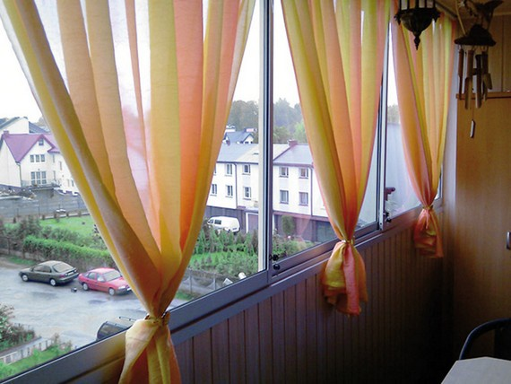 балконные шторы
