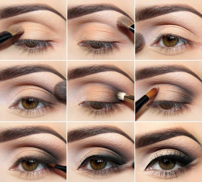 Как делать макияж глаз