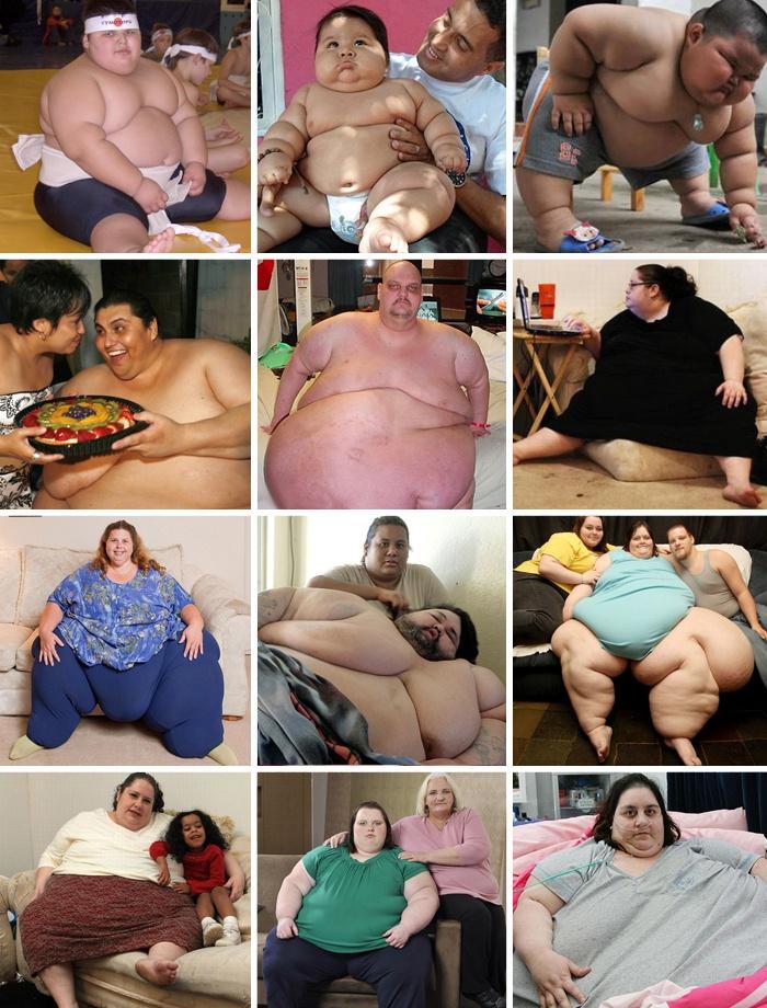 Самые толстые люди мира 2018 года