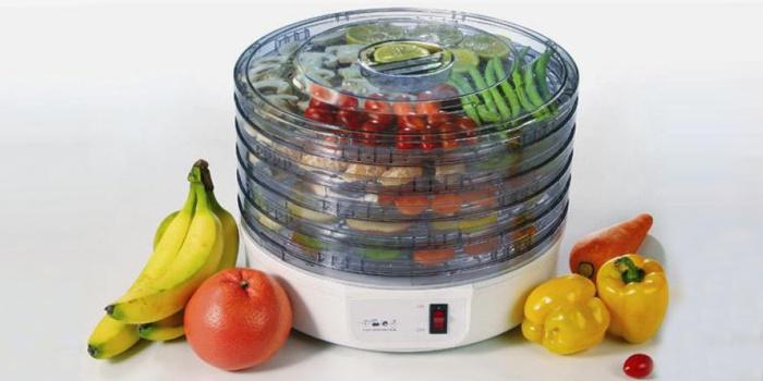 Безопасная сушилка для овощей и фруктов
