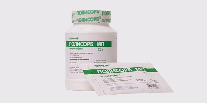 Полисорб для облегчения токсикоза