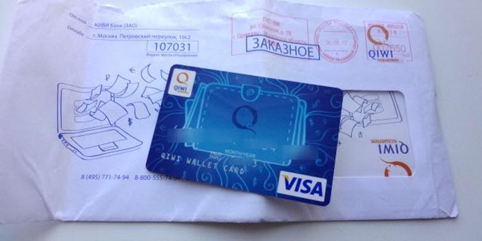 Платежная карта Киви