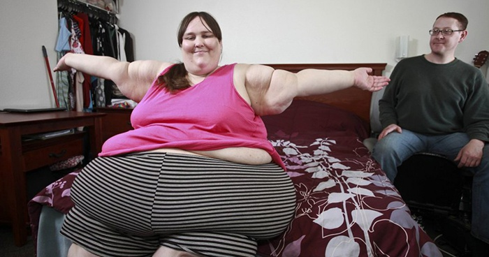 Сюзанна Эманн – самая толстая женщина мира