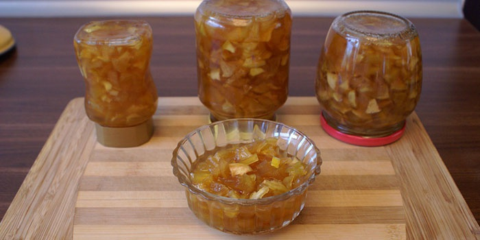 Как варить яблочное варенье дольками