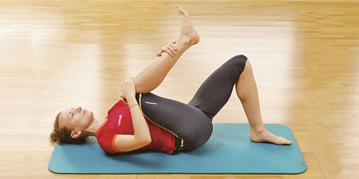 Упражнение на растяжку и гибкость
