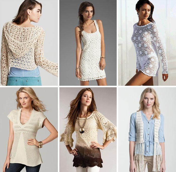 Модные летние женские модели 2018 года, вязаные крючком