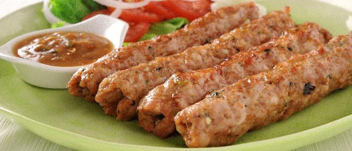 Куриный люля кебаб