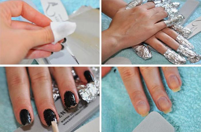Как делать в домашних условиях маникюр шеллак фото