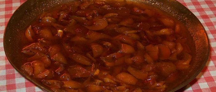 Варенье из груш и ягодного пюре
