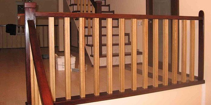 Ограждения на лестницу своими руками