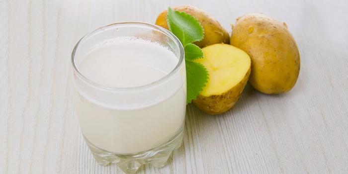 Картофельный сок для лечения поджелудочной