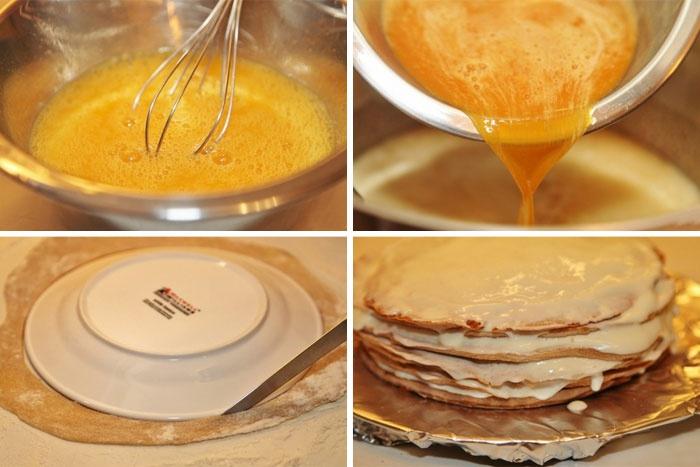Рецепт приготовления медовика