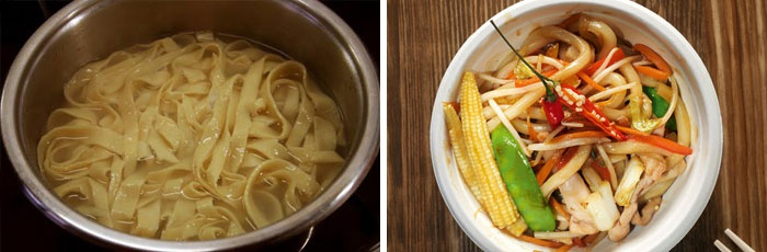 Рецепт японского блюда удон