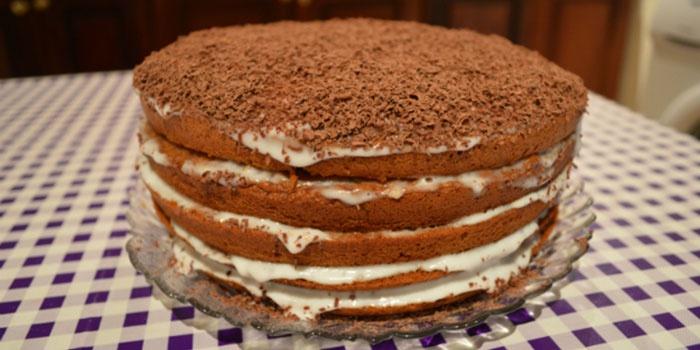 Торт Медовик, приготовленный в домашних условиях