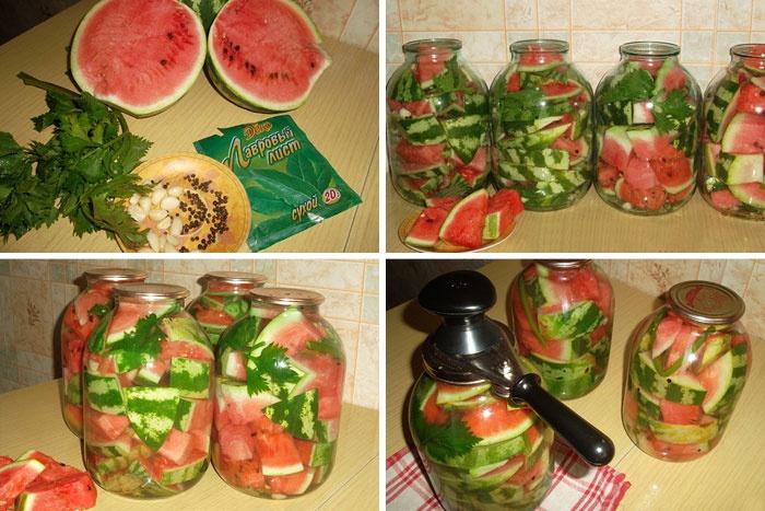 Засолка арбуза с уксусом