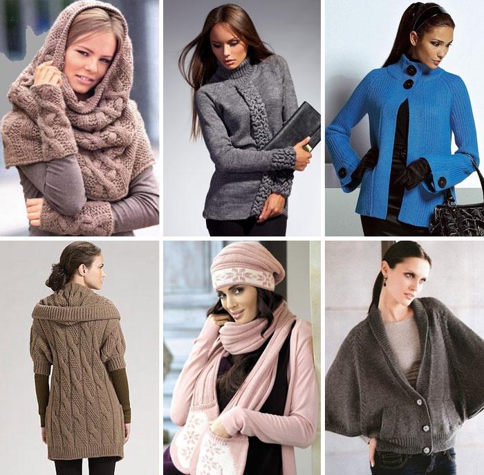 Модные вязаные женские модели 2019 года