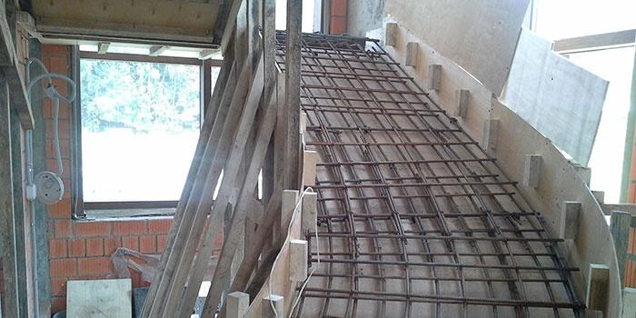 Создание ступенек из бетона