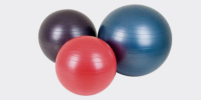 Гимнастические мячи разных размеров