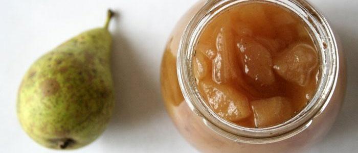 Классический рецепт варенья из груш