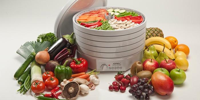 Вместительная сушилка для фруктов и овощей