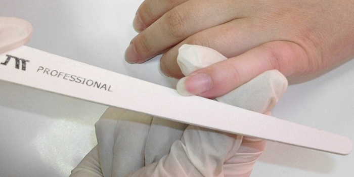 Подготовка ногтей перед нанесением гель лака