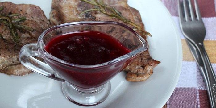 варенье из брусники.для мяса