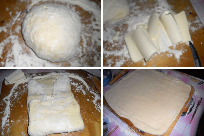 Как замесить слоенное тесто для пиццы