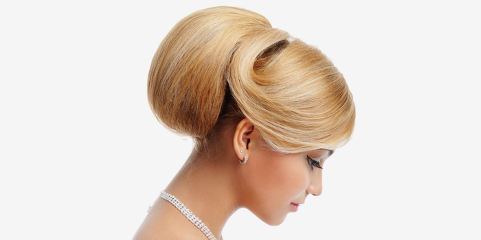 Бабетта на средние волосы