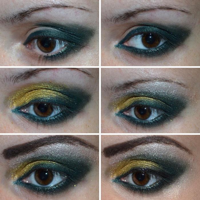 Арабский макияж для карих глаз пошагово
