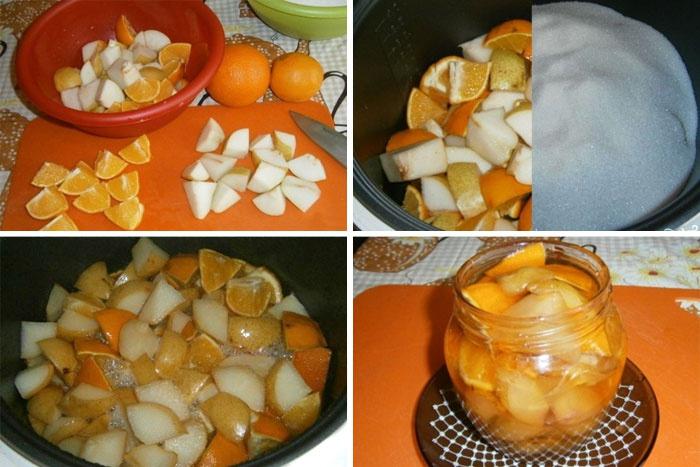 Заготовка фруктов на зиму