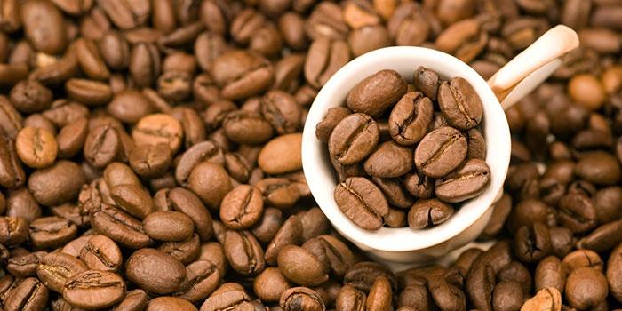 Кофейные зерна, перебивающие перегар