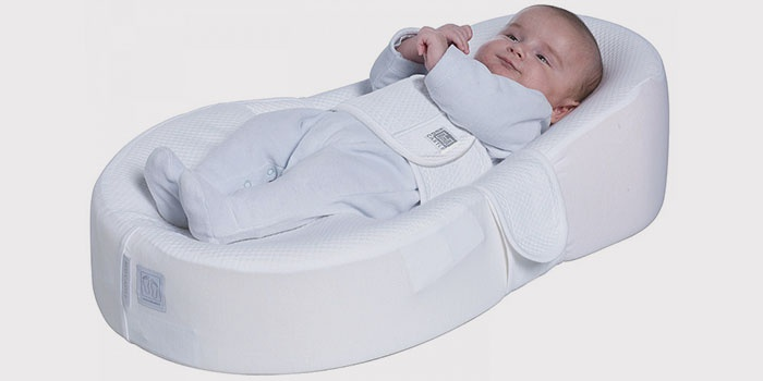 Кокон-матрас для новорожденного