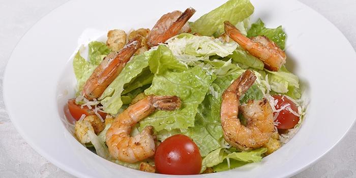 Самый вкусный салат с креветками - Цезарь