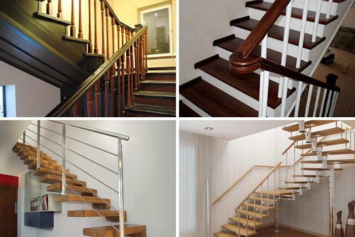 Примеры красивых лестниц на второй этаж